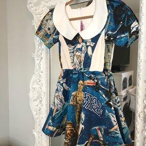 STAR WARS Disney Peter Pan Collar Dress